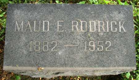 RODRICK, MAUD - Seneca County, Ohio | MAUD RODRICK - Ohio Gravestone Photos