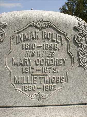TWIGGS ROLEY, MOLLIE - Seneca County, Ohio | MOLLIE TWIGGS ROLEY - Ohio Gravestone Photos