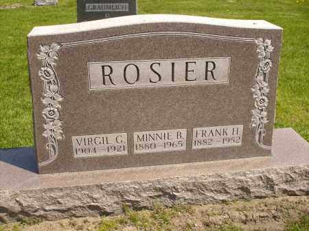 ROSIER, MINNIE B. - Seneca County, Ohio | MINNIE B. ROSIER - Ohio Gravestone Photos