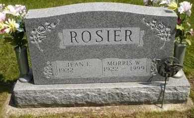 ROSIER, JEAN E. - Seneca County, Ohio | JEAN E. ROSIER - Ohio Gravestone Photos