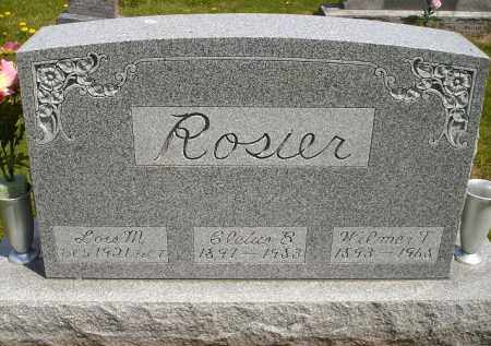 ROSIER, CLETUS B. - Seneca County, Ohio | CLETUS B. ROSIER - Ohio Gravestone Photos