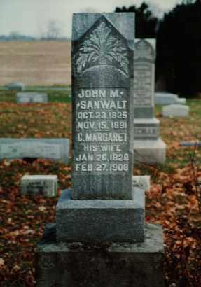 SANWALT, C. MARGARET - Seneca County, Ohio | C. MARGARET SANWALT - Ohio Gravestone Photos