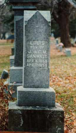 SANWALT, LOUIS - Seneca County, Ohio | LOUIS SANWALT - Ohio Gravestone Photos