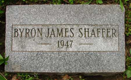 SHAFFER, BYRON - Seneca County, Ohio | BYRON SHAFFER - Ohio Gravestone Photos