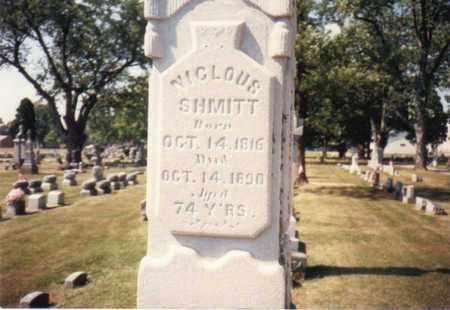SHMITT, NICLOUS - Seneca County, Ohio | NICLOUS SHMITT - Ohio Gravestone Photos