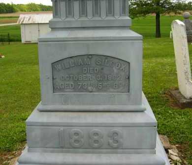 SILCOX, WILLIAM - Seneca County, Ohio | WILLIAM SILCOX - Ohio Gravestone Photos