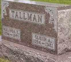WAGNER TALLMAN, MALINDA E. - Seneca County, Ohio | MALINDA E. WAGNER TALLMAN - Ohio Gravestone Photos