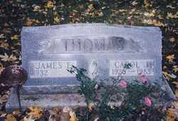 THOMAS, CAROL J. - Seneca County, Ohio | CAROL J. THOMAS - Ohio Gravestone Photos