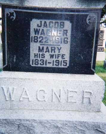FRANKHART WAGNER, JACOB & MARY - Seneca County, Ohio | JACOB & MARY FRANKHART WAGNER - Ohio Gravestone Photos