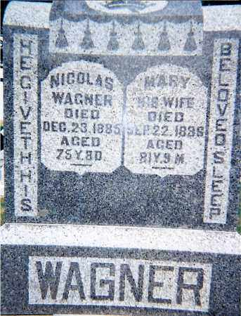 WAGNER, MARY - Seneca County, Ohio | MARY WAGNER - Ohio Gravestone Photos