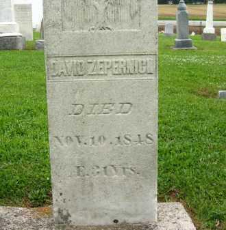 ZEPERNICK, DAVID - Seneca County, Ohio   DAVID ZEPERNICK - Ohio Gravestone Photos