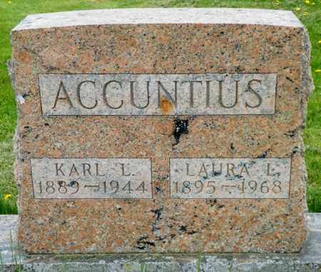 ACCUNTIUS, LAURA L. - Shelby County, Ohio | LAURA L. ACCUNTIUS - Ohio Gravestone Photos