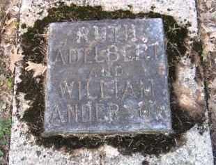 ANDERSON, WILLIAM - Shelby County, Ohio | WILLIAM ANDERSON - Ohio Gravestone Photos