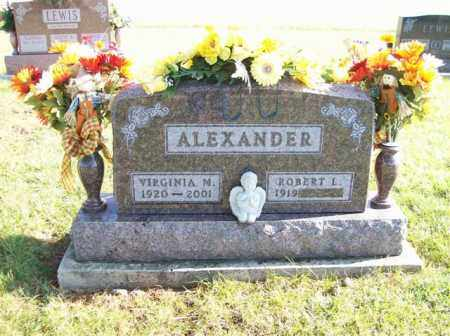 ALEXANDER, ROBERT L. - Shelby County, Ohio | ROBERT L. ALEXANDER - Ohio Gravestone Photos
