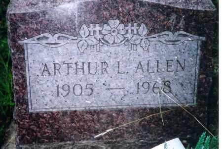 ALLEN, ARTHUR L. - Shelby County, Ohio | ARTHUR L. ALLEN - Ohio Gravestone Photos