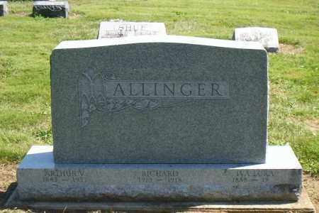 ALLINGER, GEORGE - Shelby County, Ohio | GEORGE ALLINGER - Ohio Gravestone Photos