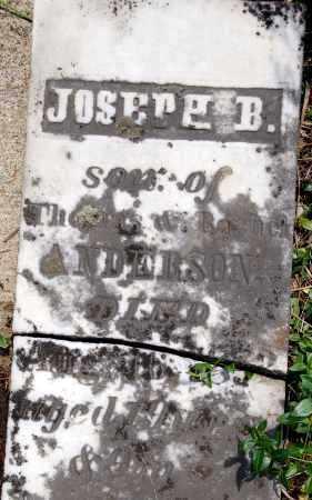 ANDERSON, JOSEPH B. - Shelby County, Ohio | JOSEPH B. ANDERSON - Ohio Gravestone Photos