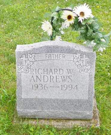 ANDREWS, RICHARD W. - Shelby County, Ohio | RICHARD W. ANDREWS - Ohio Gravestone Photos