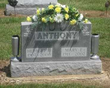 ANTHONY, MARY ELIZABETH - Shelby County, Ohio | MARY ELIZABETH ANTHONY - Ohio Gravestone Photos