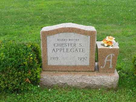 APPLEGATE, CHESTER S. - Shelby County, Ohio | CHESTER S. APPLEGATE - Ohio Gravestone Photos