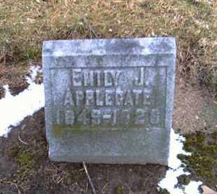 APPLEGATE, EMILY J. - Shelby County, Ohio | EMILY J. APPLEGATE - Ohio Gravestone Photos