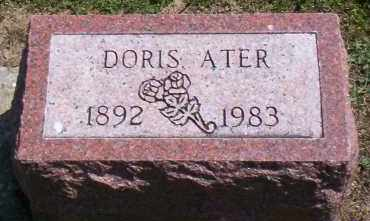 ATER, DORIS - Shelby County, Ohio | DORIS ATER - Ohio Gravestone Photos