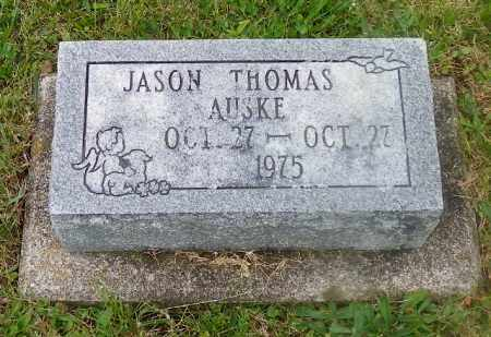 AUSKE, JASON THOMAS - Shelby County, Ohio | JASON THOMAS AUSKE - Ohio Gravestone Photos