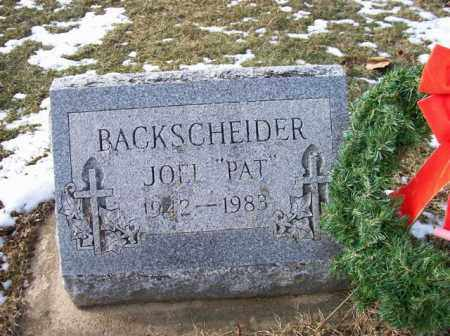 "BACKSCHEIDER, JOEL ""PAT"" - Shelby County, Ohio 