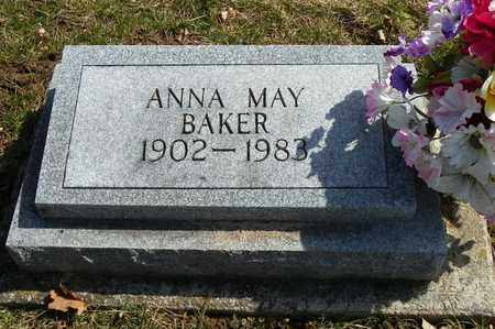BAKER, ANNA MAY - Shelby County, Ohio | ANNA MAY BAKER - Ohio Gravestone Photos