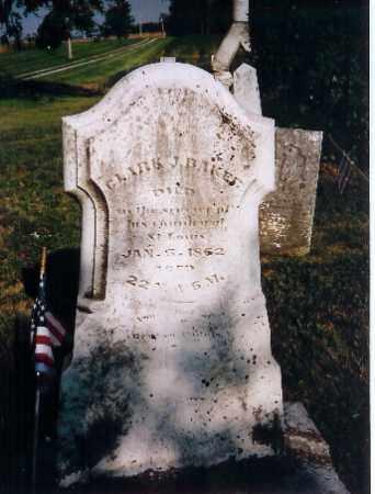 BAKER, CLARK J - Shelby County, Ohio | CLARK J BAKER - Ohio Gravestone Photos