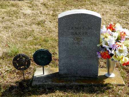 BAKER, JAMES M. - Shelby County, Ohio | JAMES M. BAKER - Ohio Gravestone Photos
