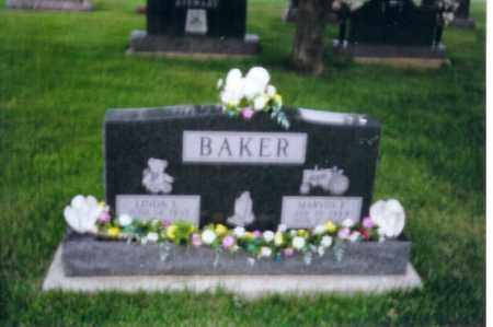 BAKER, MARVIN - Shelby County, Ohio | MARVIN BAKER - Ohio Gravestone Photos