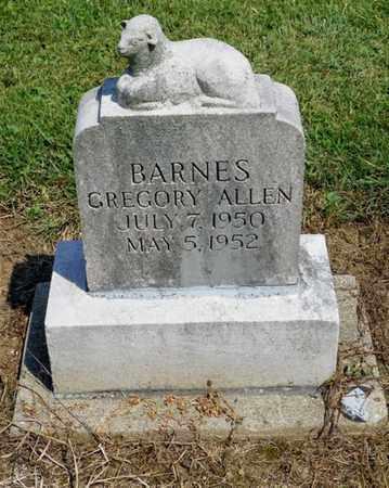 BARNES, GREGORY ALLLEN - Shelby County, Ohio   GREGORY ALLLEN BARNES - Ohio Gravestone Photos