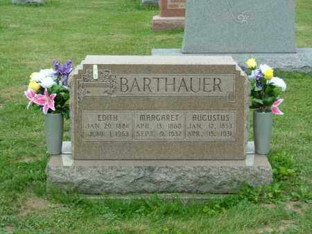BARTHAUER, MARGARET - Shelby County, Ohio | MARGARET BARTHAUER - Ohio Gravestone Photos