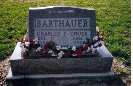 BARTHAUER, CHARLES F. - Shelby County, Ohio | CHARLES F. BARTHAUER - Ohio Gravestone Photos