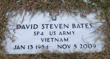 BATES, DAVID STEVEN - Shelby County, Ohio | DAVID STEVEN BATES - Ohio Gravestone Photos