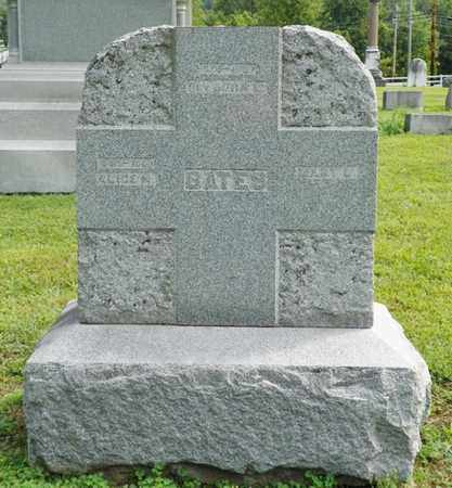 BATES, MARY L. - Shelby County, Ohio | MARY L. BATES - Ohio Gravestone Photos