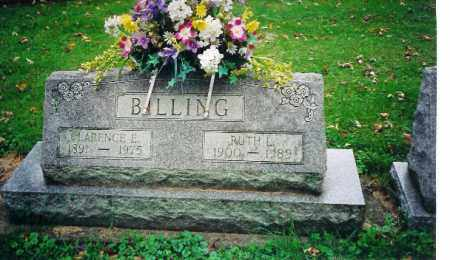 BILLING, CLARENCE E - Shelby County, Ohio | CLARENCE E BILLING - Ohio Gravestone Photos