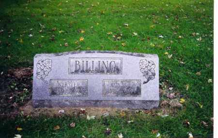 BILLING, AGNES ALLTON - Shelby County, Ohio | AGNES ALLTON BILLING - Ohio Gravestone Photos