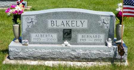 BLAKELY, BERNARD - Shelby County, Ohio | BERNARD BLAKELY - Ohio Gravestone Photos