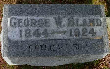 BLAND, GEORGE W. - Shelby County, Ohio | GEORGE W. BLAND - Ohio Gravestone Photos