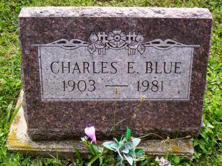 BLUE, CHARLES E. - Shelby County, Ohio | CHARLES E. BLUE - Ohio Gravestone Photos