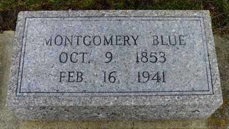 BLUE, MONTGOMERY - Shelby County, Ohio | MONTGOMERY BLUE - Ohio Gravestone Photos