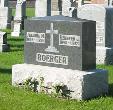 BOERGER, BERNARD J. - Shelby County, Ohio | BERNARD J. BOERGER - Ohio Gravestone Photos