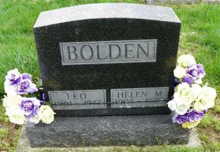 BOLDEN, HELEN M. - Shelby County, Ohio | HELEN M. BOLDEN - Ohio Gravestone Photos