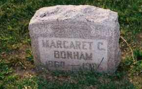 BONHAM, MARGARET C. - Shelby County, Ohio | MARGARET C. BONHAM - Ohio Gravestone Photos