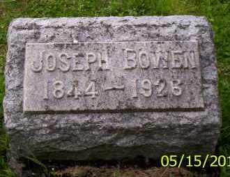 BOWEN, JOSEPH - Shelby County, Ohio | JOSEPH BOWEN - Ohio Gravestone Photos