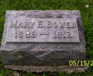 BOWEN, MARY E. - Shelby County, Ohio | MARY E. BOWEN - Ohio Gravestone Photos