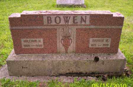 BOWEN, NANNIE M. - Shelby County, Ohio | NANNIE M. BOWEN - Ohio Gravestone Photos