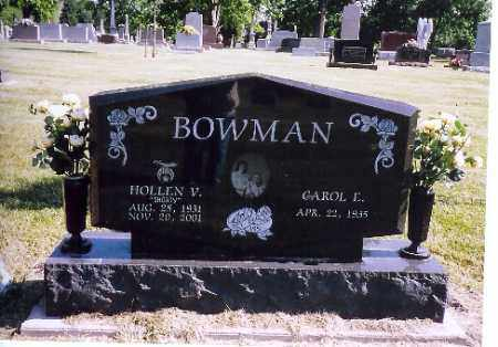 BOWMAN, HOLLEN V. - Shelby County, Ohio | HOLLEN V. BOWMAN - Ohio Gravestone Photos